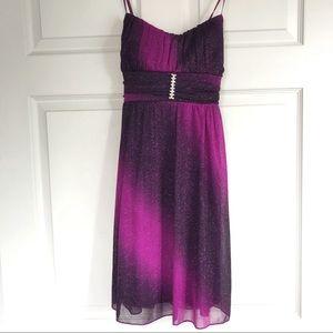 Purple Ombré Formal/Prom Dress